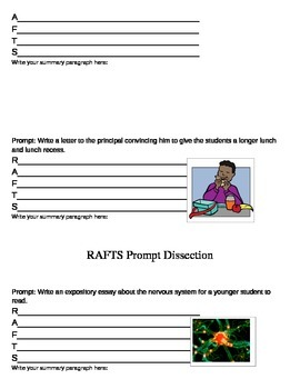 RAFTS Prompt Dissection Practice