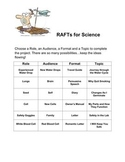 RAFTs for writing in Science