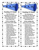 R.A.H. Bookmark
