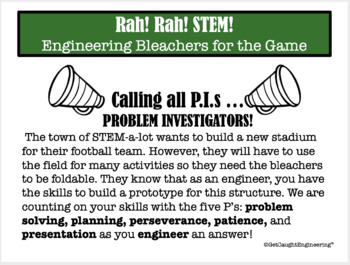 STEM! Rah! Rah! :Engineering Bleachers for the Game!