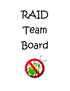 RAID Getting the Bugs out of Practice STAAR Test Questions
