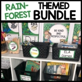 RAINFOREST Classroom Theme Printable BUNDLE