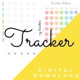 RAINBOW ACTIVITY TRACKER   Blank Template   Simple Effective Fun