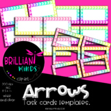 RAINBOW ARROWS Task cards template