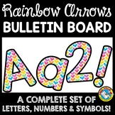 RAINBOW CLASSROOM DECOR WATERCOLOR (RAINBOW BULLETIN BOARD