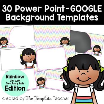 RAINBOW Editable PowerPoint & Google Slides Templates -Per