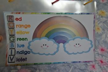 RAINBOW FLIP CARDS
