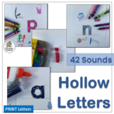 Hollow Letters follows the sound sequence from programs li