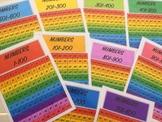 RAINBOW NUMBER CHART 1-1000