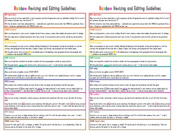 RAINBOW Revising and Editing