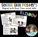 RAINBOW Social Skill Posters