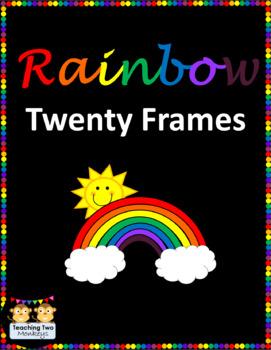 St. Patrick's Day RAINBOW Twenty Frames