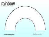 RAINBOW template