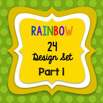 RAINBOW24 SELLERS' DESIGN SET - PART1
