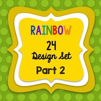 RAINBOW24 SELLERS' DESIGN SET - PART2