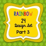RAINBOW24 SELLERS' DESIGN SET - PART3