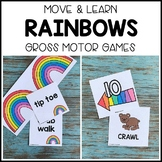 RAINBOWS Move & Learn Gross Motor Games - Preschool, Pre-K