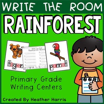 RAINFOREST Write the Room Kit