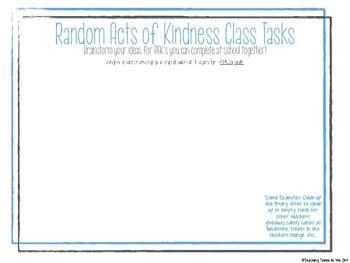 RAK Classroom Kit (Random Acts of Kindness)