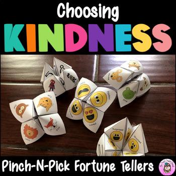 Choosing Kind Deeds: Kindness Pinch~N~Pick Fortune Teller