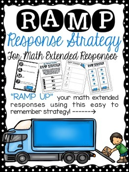 RAMP STRATEGY - CCSS Math Extended Response & Performance Task Strategy Bundle