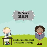RAN - Reading and Analyzing Non-Fiction Strategy