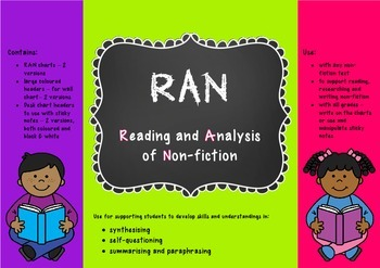 RAN charts - Reading and Analysis of Non-fiction