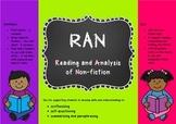RAN charts - Reading and Analysis of Non-fiction