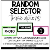 RANDOM STUDENT SELECTOR-DISTANCE LEARNING