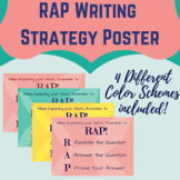 RAP Essay Prompt Response Poster-Writing Strategy