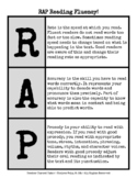 RAP Reading Fluency {Rate, Accuracy, and Prosody}