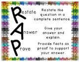 RAP- Reading Response Poster