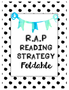 RAP Reading foldable