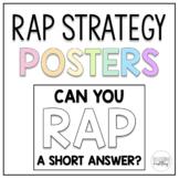 RAP Short Answer Resource