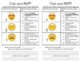 RAP Written Response Rubric
