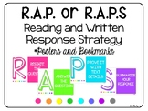 RAP or RAPS Reading and Written Response Strategy