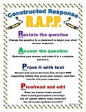 RAPP Constructed Response Strategy Poster