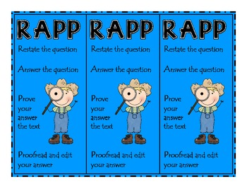 {$1 Deal} RAPP Detective Bookmarks