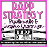 RAPP Strategy Bookmarks and Graphic Organizer