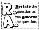 RAPPS test prep - short response help - classroom posters