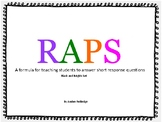 RAPS Short Response Answers (Chevron and Brights)