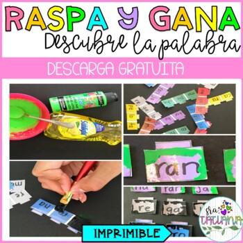 RASPA Y GANA/ ENCONTRANDO LA PALABRA RASPANDO