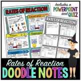 Reaction Rates Doodle Notes   Science Doodle Notes