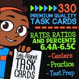 RATES, RATIOS & PERCENTS ★ 6.4A 6.4B 6.4C 6.4D 6.4E 6.4F 6.4G 6.4H 6.5A 6.5B & C