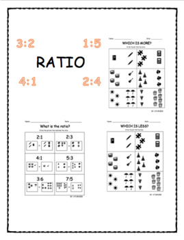 RATIO WITH PICTURES