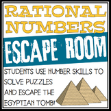 RATIONAL NUMBERS ESCAPE ROOM