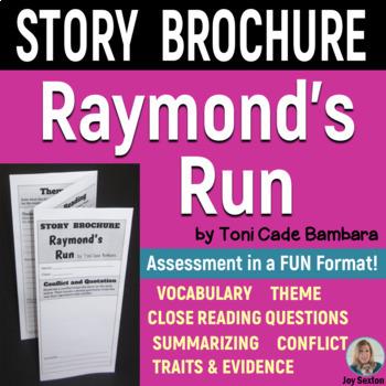 RAYMOND'S RUN Foldable Story Brochure - (Standards-Aligned)