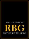 RBG- Editable Movie Viewing Guide and Accompanying Activities