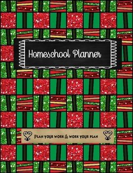 RBG Homeschool Planner Cover