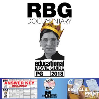 RBG - Ruth Bader Ginsburg Documentary Movie Guide | Worksheet (PG - 2018)